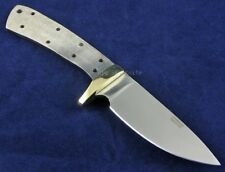 "Knife Making Hunting Blade Blank 3"" Drop Point"