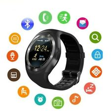 Waterproof Y1 Smart Watch Camera Wristwatch Gear for iPhone Samsung Android