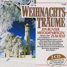 Weihnachtsträume Lynn Anderson, Johnny Cash, Gilbert O'Sullivan, Dean M.. [2 CD]