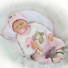 22''55cm Reborn Baby Dolls Silicone Lifelike Baby Look Real Realistic Xmas Gift