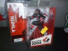 2005 JAROME IGINLA TEAM CANADA MCFARLANE HOCKEY FIGURE SPECIAL EDITION NIP.