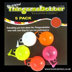 """3/4"""" Thingamabobber Multi-Coloured Strike Indicator - 5 Pack"""