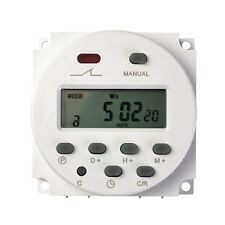 New Digital Time Programmable Timer Switch Mini LCD Power Weekly DC 12V 16A