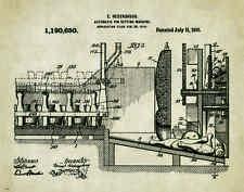 Bowling Ball Patent Patent Poster Art Print Vintage Shirt Shoes Pins Bag PAT294