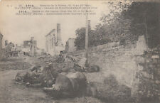 CPA GUERRE 14-18 WW1 MARNE MAURUPT explosion d'un caisson de munitions