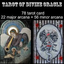 Tarot card deck and book set reading minor major arcana rare vintage oracle kit