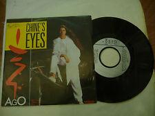 "AGO""CHINE'S EYES-disco 45 giri VOGUE France 1985""ITALO DISCO"