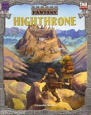 D&D 3rd ed Cities of Fantasy Highthrone - City above the Clouds - D20 *FS