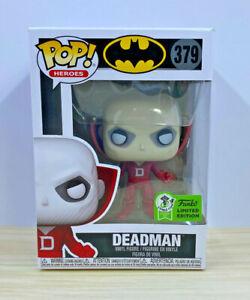 Funko Pop! #379 Batman - Deadman 2021 Spring ECCC Exclusive (Official Sticker)