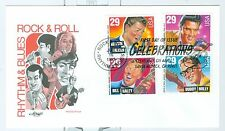 US  2730a FDC ROCK&ROLL RYTHM&BLUES 1993 VALENS,ELVIS,HALEY,HOLLY