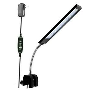 Fish Tank Clip on Light with Inline Timer, 18 led 7W (Timer&Dimmer Switch)