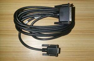 EMC 038-003-444 DB9 to DB25 Serial Cable DB9 Female to DB25 Male.