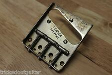 FENDER RELIC AGED PAT PEND VINTAGE 58' TELECASTER BRIDGE WITH STEEL SADDLES