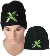 DX Shock Embroidered Logo D-Generation Beanie Cap Hat WWE