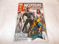 Marvel UK Panini Comic Wolverine and Deadpool Issue 140 25th July 2007