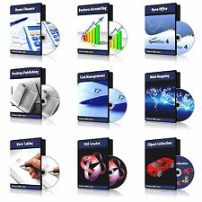 2017 Professional Accounting, Bookkeeping, Home & Personal Finance Software DVD