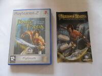 Prince of Persia Les sables du temps  PS2 Playstation 2 avec son livret