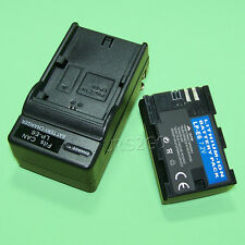 2 Accessory New 2000mAh Battery Desktop Charger for Canon Eos 60D Digital Camera