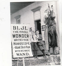 "*Postcard-""Bi.Ji. The Hindu Wonder"" ...Fortune Teller"