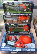 Husqvarna Toy Set Chainsaw/Hedge Trimmer /Leaf Blower/ Lawn Trimmer New