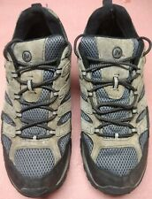 MERRELL Moab 2 Waterproof Gray Leather Hiking Sneakers Mens Size 14 M