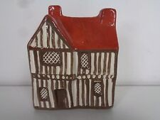 Mudlen End Studio Large Timbered House 13 L Vtg 70s Felsham England Mini Figure