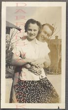 Unusual Vintage Photo Pretty Girl w/ 2 Heads 754885