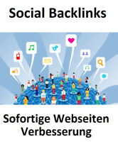 1000 Social Backlinks + Sofortiger Effekt + SEO Mehr Webseiten Besucher Werbung