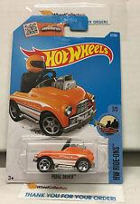 Pedal Driver #67 * Orange * 2016 Hot Wheels * N171