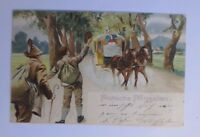 """ Pentecost, Stagecoach, Hikers "" 1905 (42262)"