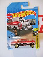 Hot Wheels 2019 Factory Set '55 CHEVY BEL AIR GASSER HW Speed Graphics 1/10