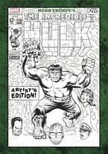 Herb Trimpe's The Incredible Hulk  Artist's Edition HC Hardcover IDW NIB