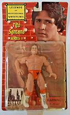 Legends of Profesional Wrestling Tito Santana Series 11 Action Figure NIB