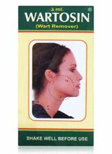 5 WARTOSIN Herbal Wart Remover 3ml Skin Care Elevated warts ayurvedic skin tag