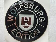 4 x Volkswagen Wolfsburg Edition Nabenkappen-NEU