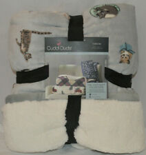 Cuddl Duds Cozy Layers Throw-Cats
