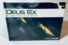 "NEW - Deus Ex: Mankind Divided ""Design Work"" Limited Edition Hardcover Art Book"