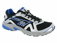 Hi-Tec R156 Sport Running Lace Black Silver Boys Trainers Shoes Size 13-6 UK