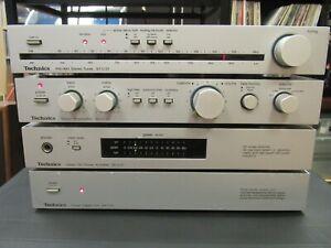 Technics Mini System Stereo Set ST-C01 Tuner SUC01 SE-C01 amp SHC01 SBF3 Speaker