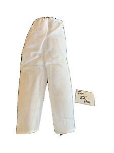 "Vintage Doll pantaloon,   For 22""  Doll"