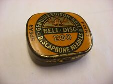 Phonograph Victrola Gramophone - Needle Tin - 200 Edison Bell Discaphone Spear