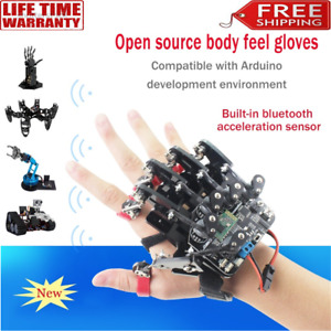 Wearable Mechanical Robot Glove Open Source/Somatosensory Control of Exoskeleton