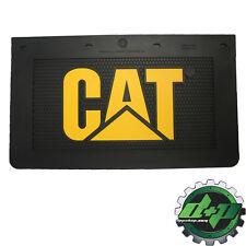 cat caterpillar tractor trailer diesel dump semi mudflap truck mud flap 24x14