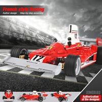Baukästen XINGBAO Ostern Rot Super Power Rennwagen Modell Geschenk Spielzeug