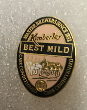 KIMBERLEY BEST MILD PIN BADGE