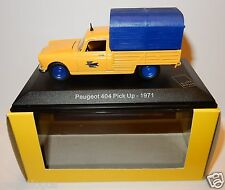 Rare eligor peugeot 404 pick-up 1971 posts post ptt 1/43 in box
