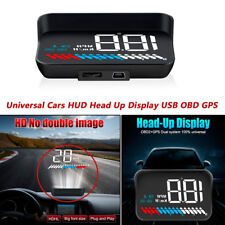 Car HUD Head Up Display Vehicle OBD2 RV Speedometer Windshield Speed Projector