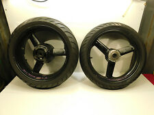 2002-2005 Triumph Speed Four Aluminum Front Rear Wheel & Tire Set