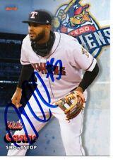 Willi Castro 2019 Toledo Mud Hens Autographed Signed Card