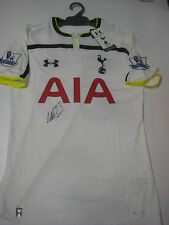 TOTTENHAM- CRISTIAN ERIKSEN HAND SIGNED SPURS HOME JERSEY + PHOTO PROOF + C.O.A